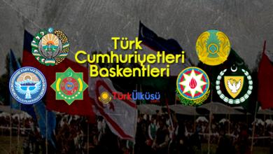 Türk Cumhuriyetleri Başkentleri