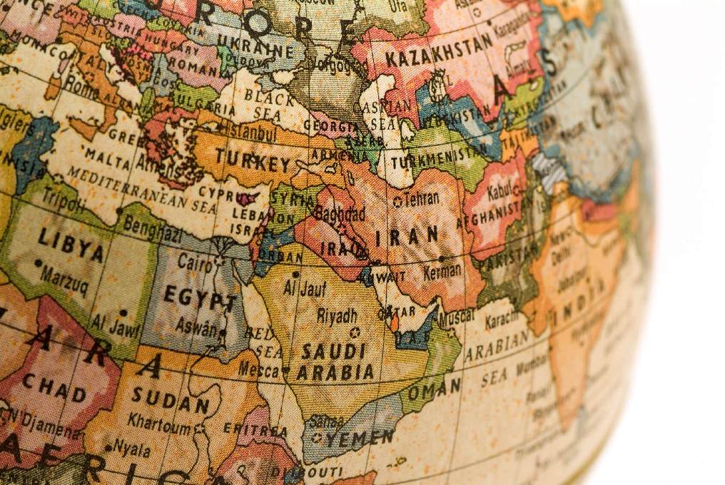 Ortadoğu Devletleri Haritası
