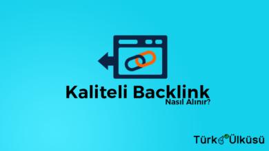 Kaliteli Backlink Nasıl Alınır