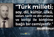 Photo of Türk Milletinin Tarifi – Nejdet Sançar