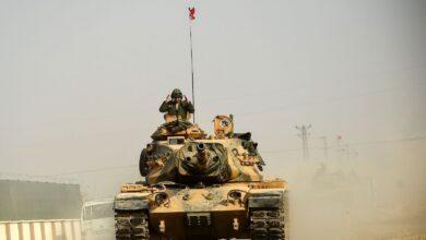 Türk Tankı, Suriye.