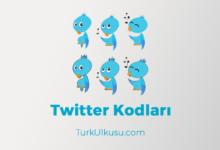 Photo of Güncel Twitter Kodları 2020